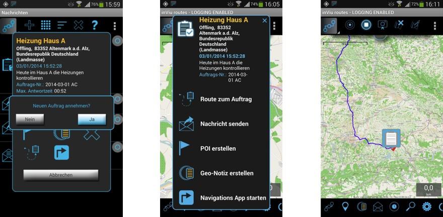 App Messenger F 252 R Smartphone Und Tablet Mit